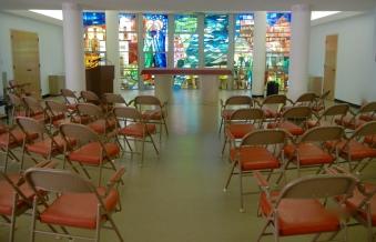 Spacious social hall conference room
